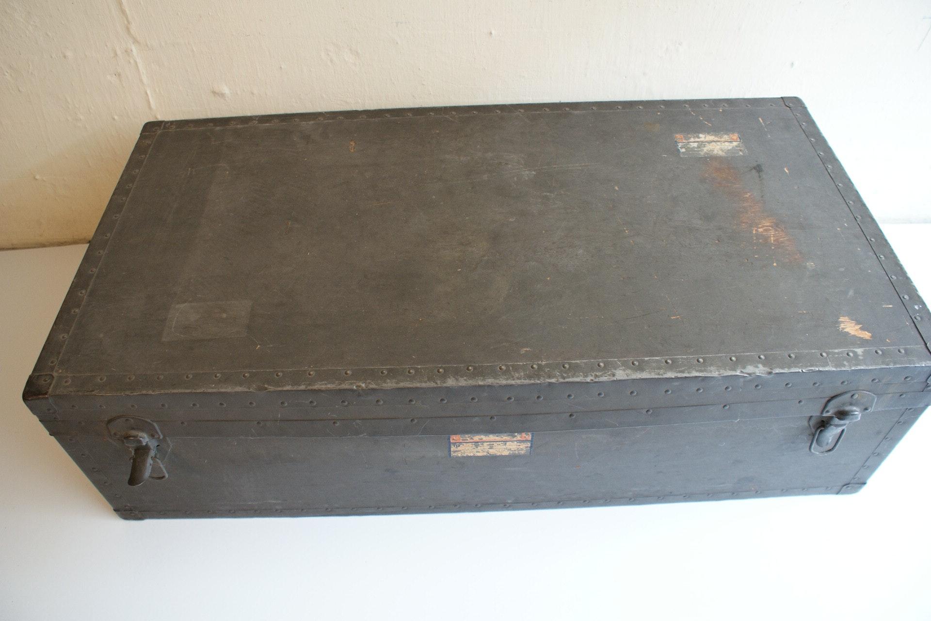 Vintage Beals U0026 Selkirk Trunk Two