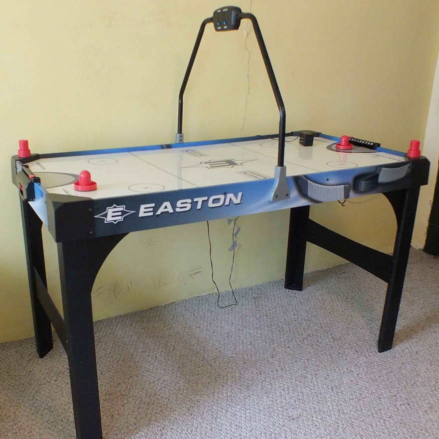 Easton turbo air hockey table modern coffee tables and accent tables easton junior size air turbo hockey table ebth keyboard keysfo Image collections