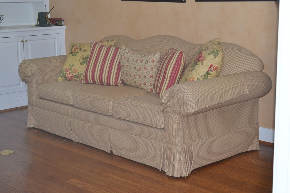 Hickory Springs Sleeper Sofa Ebth