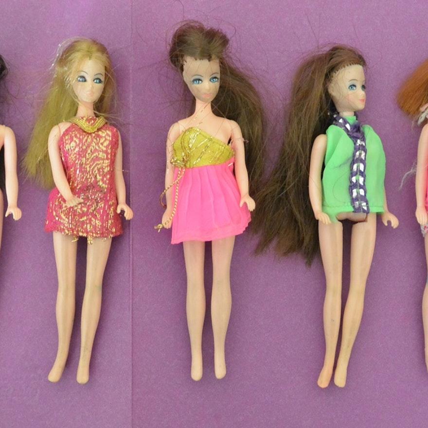 Five Dawn Dolls By Tropper