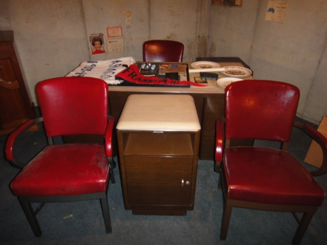 Mid Century Globe Wernicke Office Furniture U0026 Harter Chairs ...