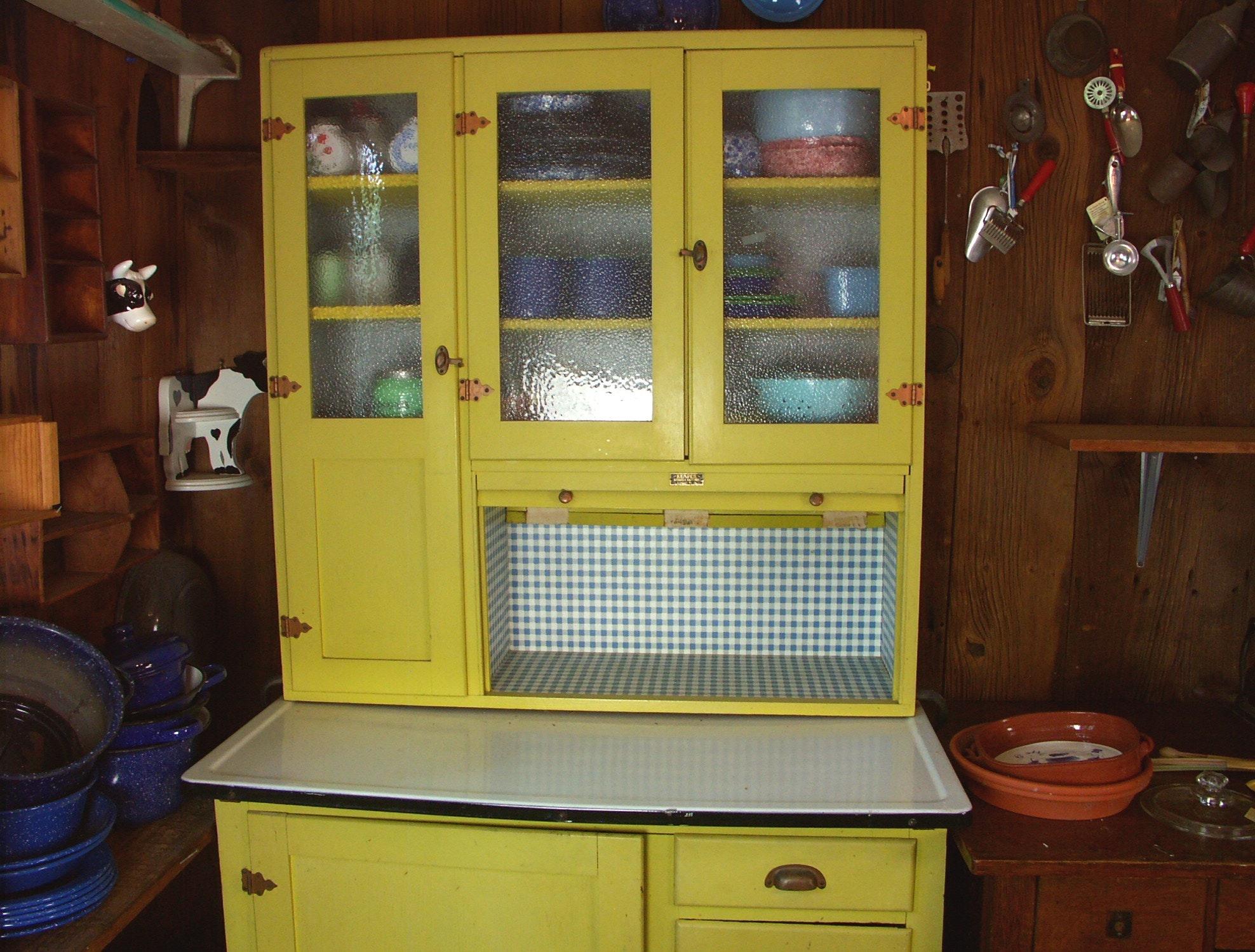 1950s Kemper 'Hoosier' Style Kitchen Cabinet : EBTH