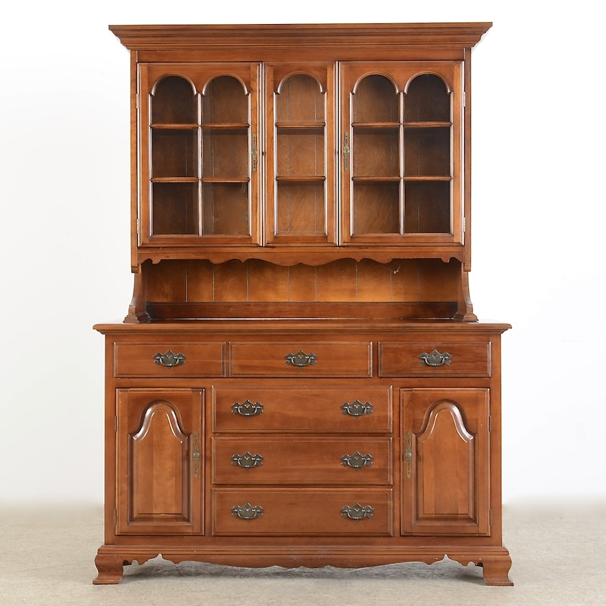 Furniture Companys: Cherry Sideboard & Cabinet By Monitor Furniture Co.