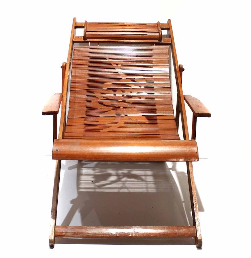 Children's Antique Steamer Chair ... - Children's Antique Steamer Chair : EBTH