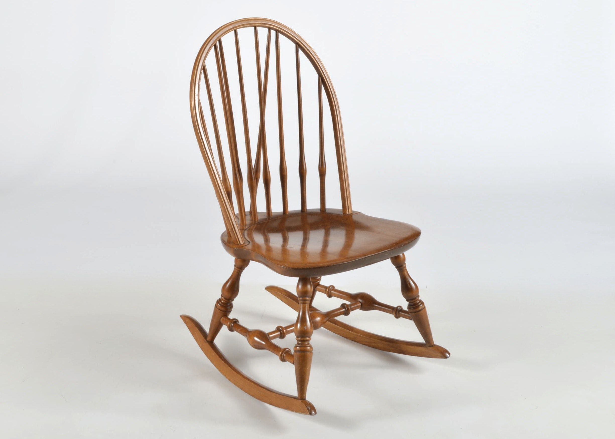 Nichols U0026 Stone Windsor Brace Loop Back Rocking Chair ...