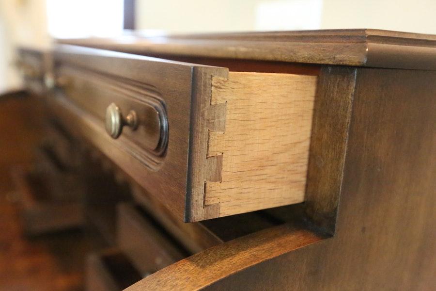 Vintage Jasper Cabinet Rolltop Desk Ebth