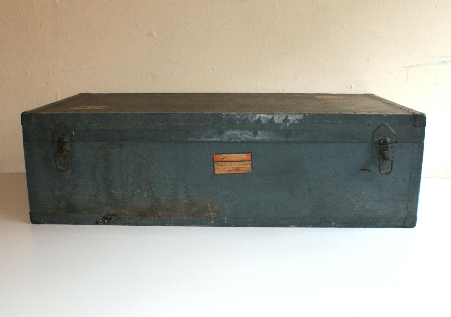 Vintage Beals U0026 Selkirk Trunk ...