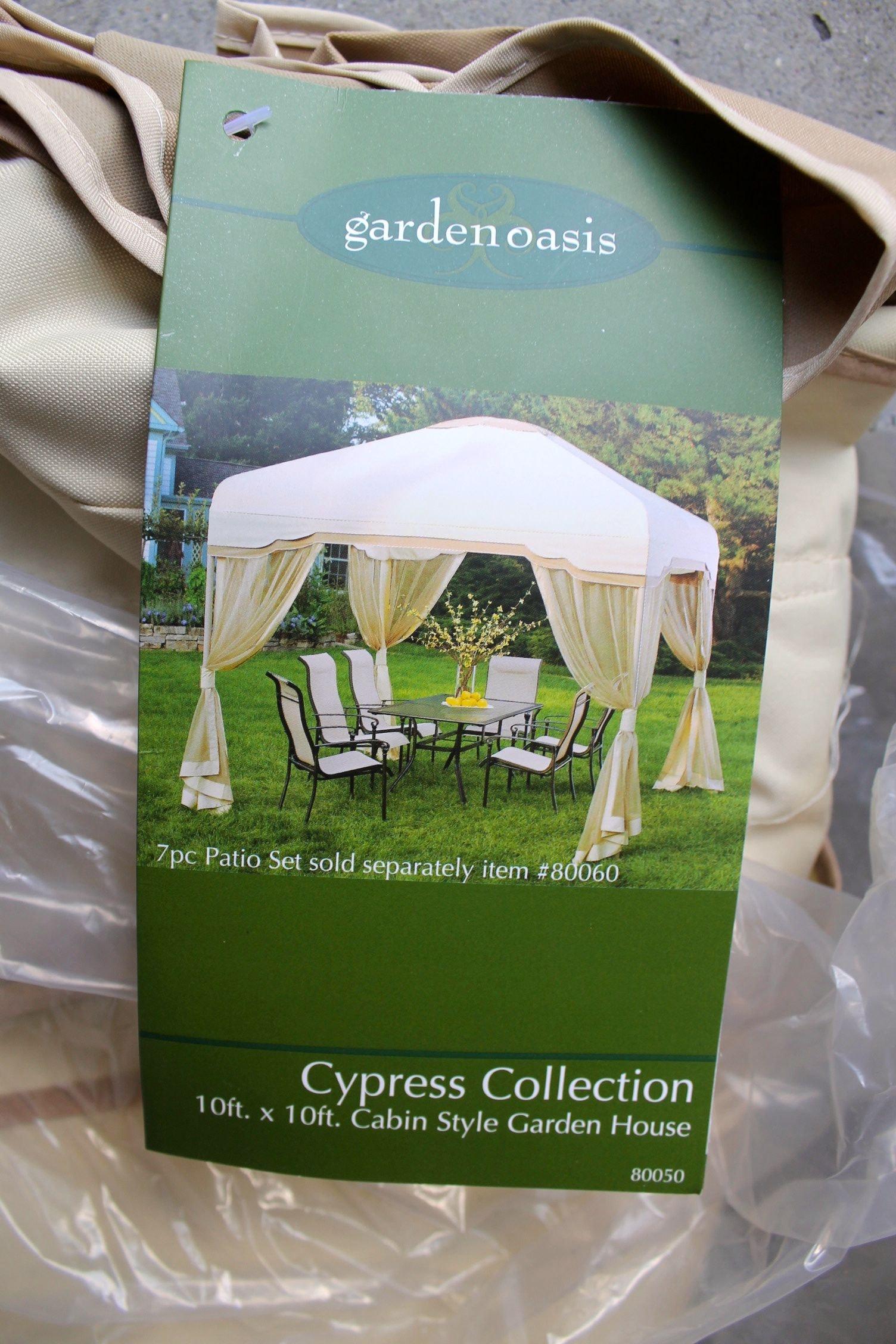 Garden Oasis 10u0027x10u0027 Cabin Style Tent ...