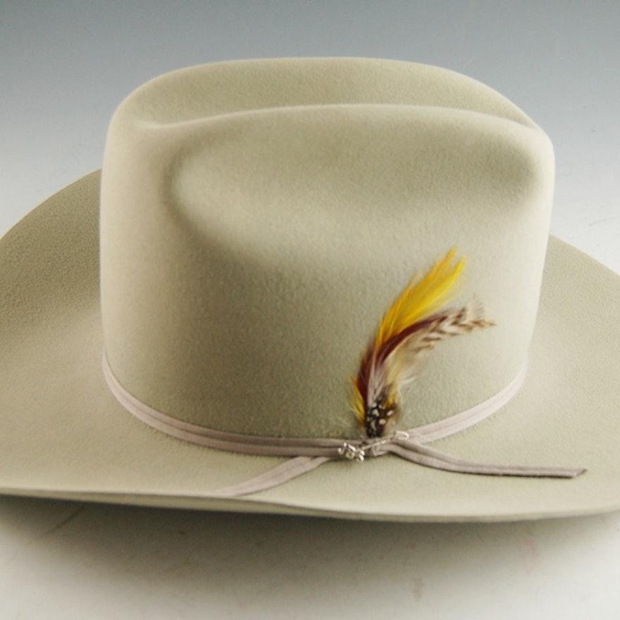 04a1034a1b746b Men's Stetson Hat; 1x1 ...