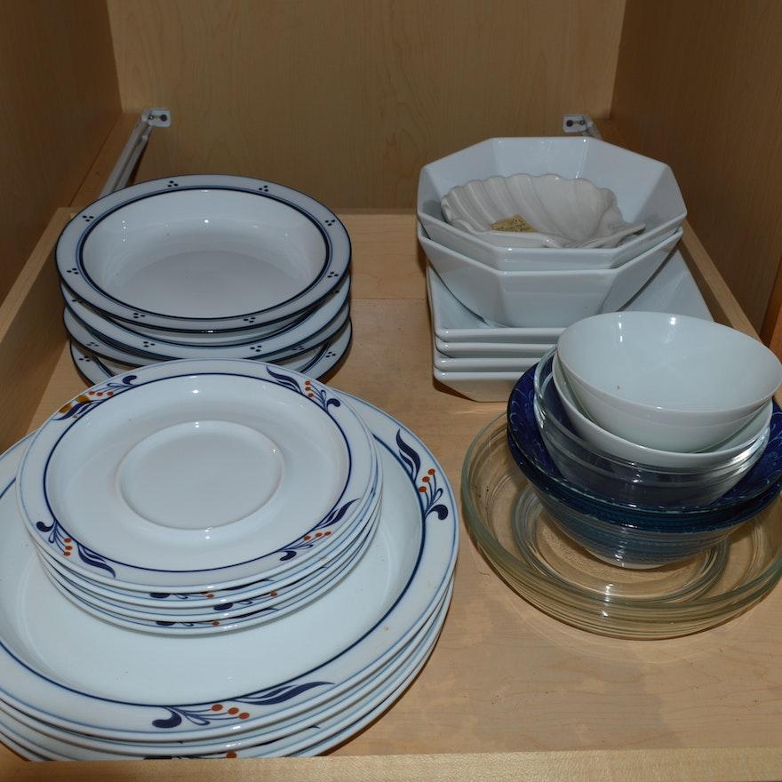 Dansk Bistro Dinnerware in the Maribo Pattern : EBTH