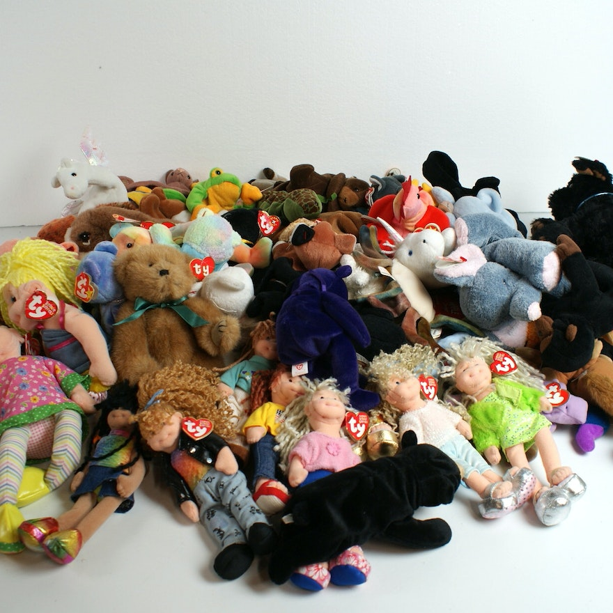 Huge Ty Plush Collection   EBTH 19f4c6f0d96a