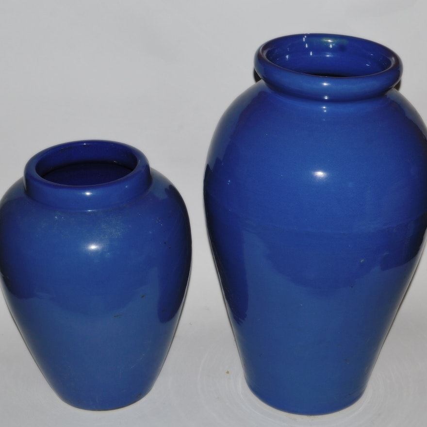 Big Blue Vases Ebth