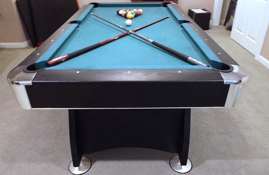 Beautiful Modern Pool Table And ESPN Table Tennis Conversion Top ...