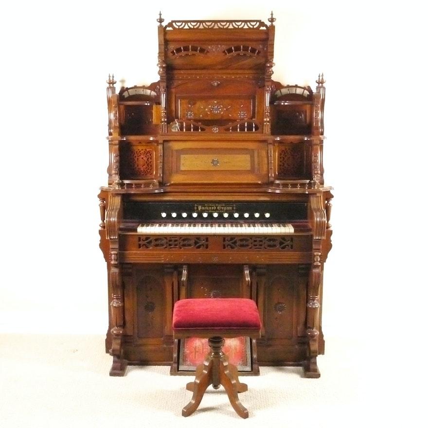 Late 19th Century Packard Pump Organ Ebth