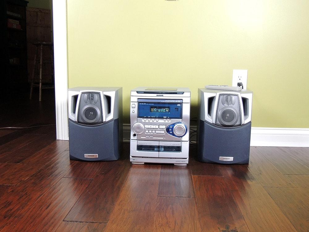 aiwa cx naj20 disc changer cassette deck fm stereo system ebth rh ebth com Manuals in PDF aiwa cx-naj20 user manual