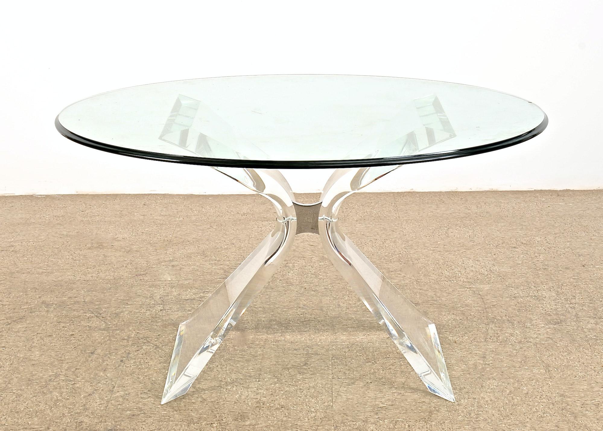 lucite dining table karl springer lucite dining table karl
