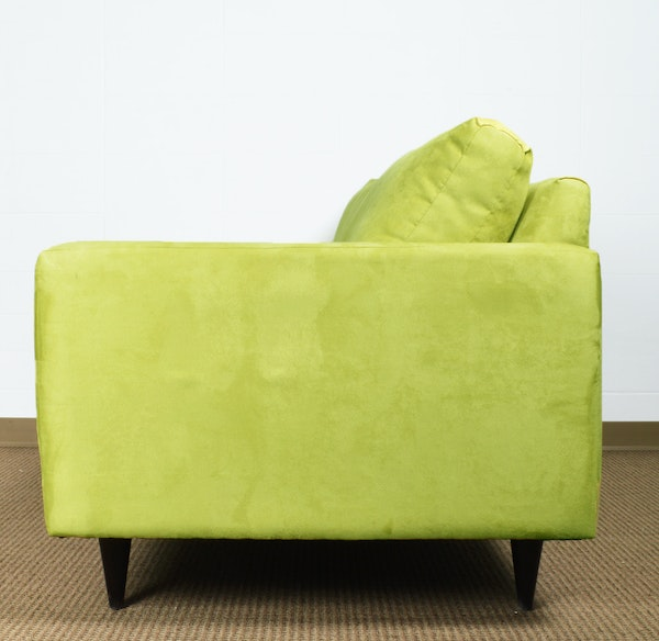 Lime green sofa by younger furniture ebth for Lime green sofa