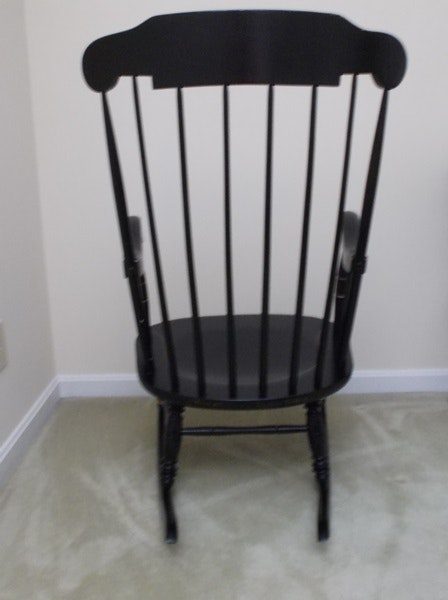 Ethan Allen Boston Rocking Chair : EBTH