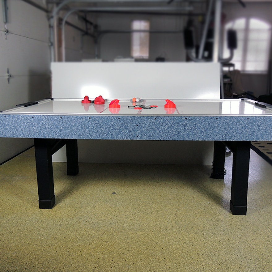 Air Hockey Table by KT Sports with Accessories