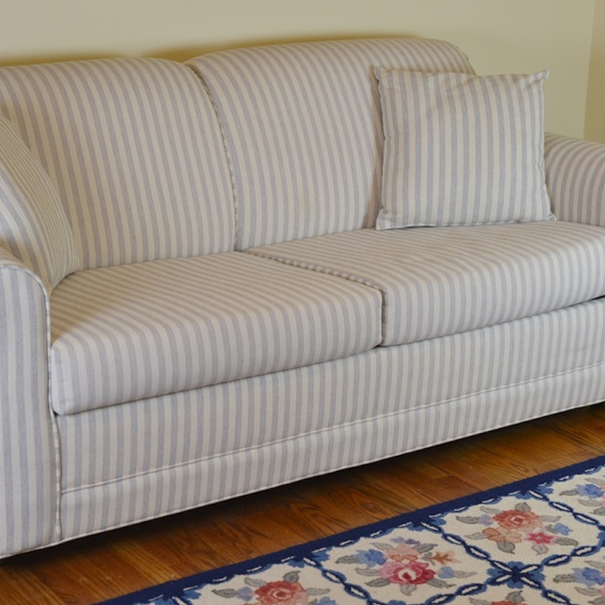 Full Size Sleeper Sofa With Stearns & Foster Mattress