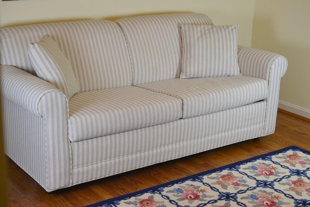 full size sleeper sofa with stearns u0026 foster mattress