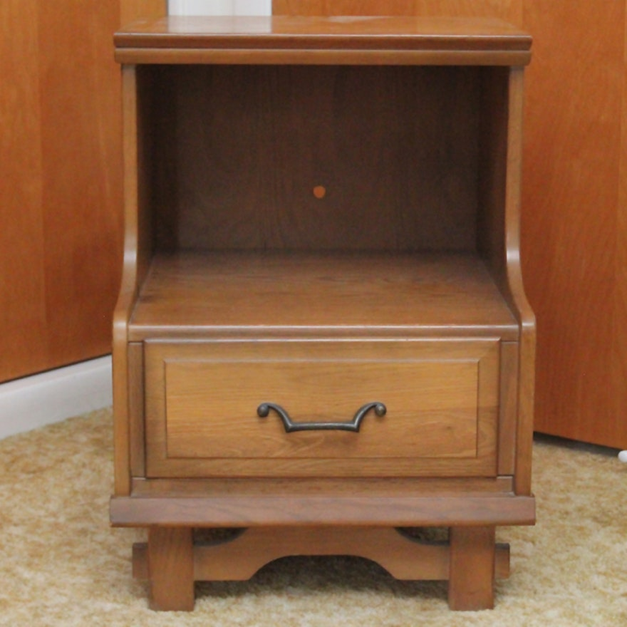Mid century nightstand by sumter furniture company ebth - Sumter cabinet company bedroom furniture ...