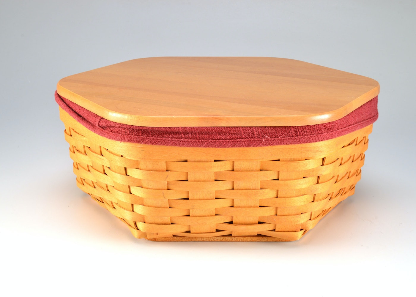 Longaberger large octagonal basket ebth Longaberger baskets for sale