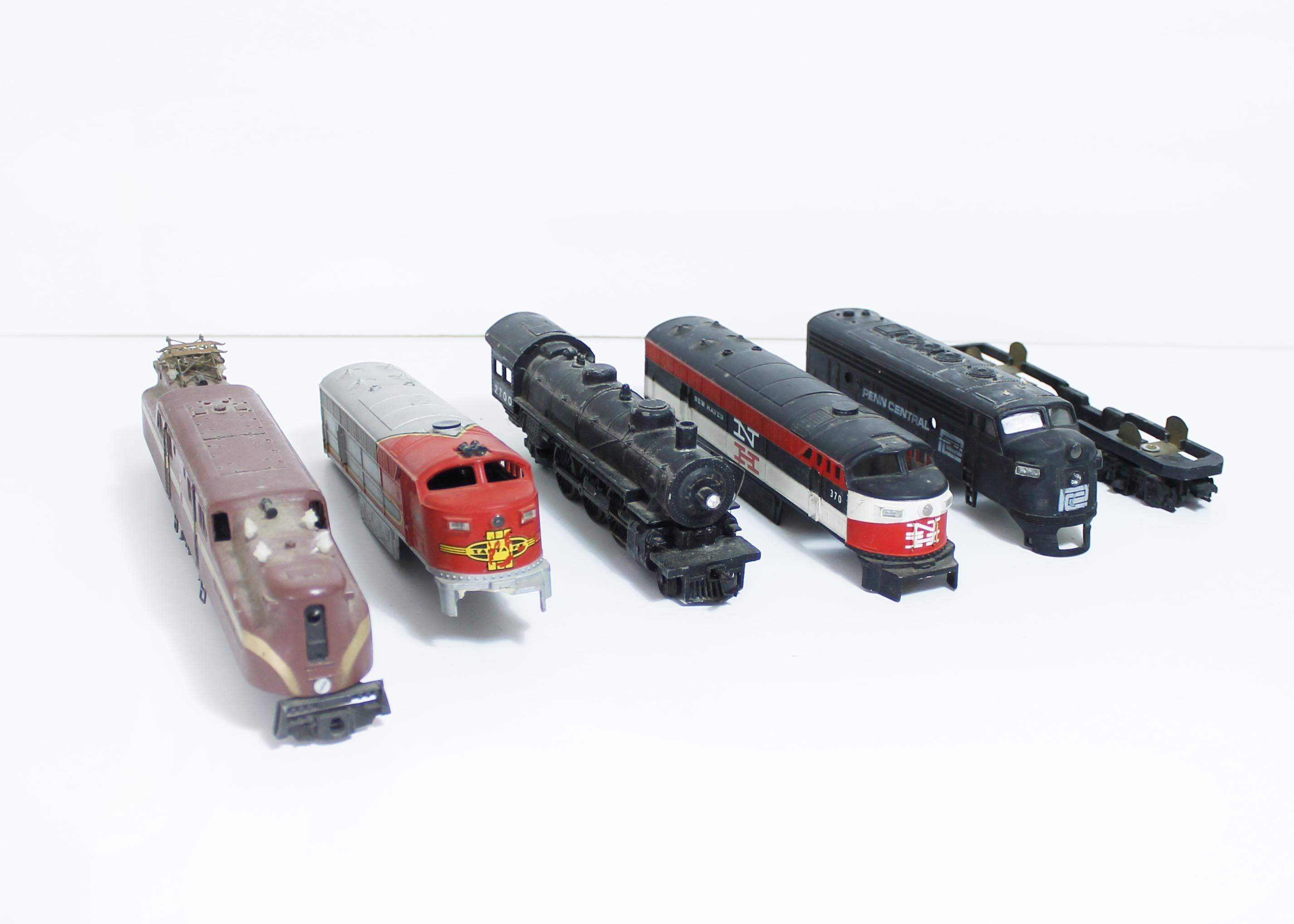 Vintage Train Toy 87