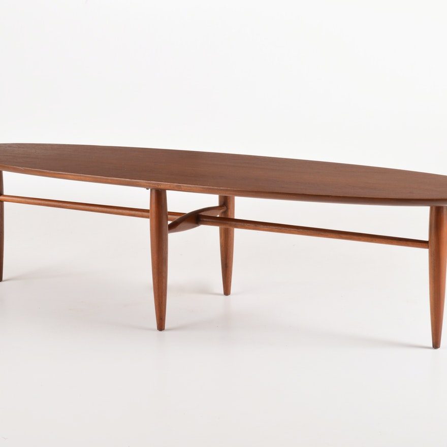 "Mersman ""Surfboard Style"" Coffee Table : EBTH"
