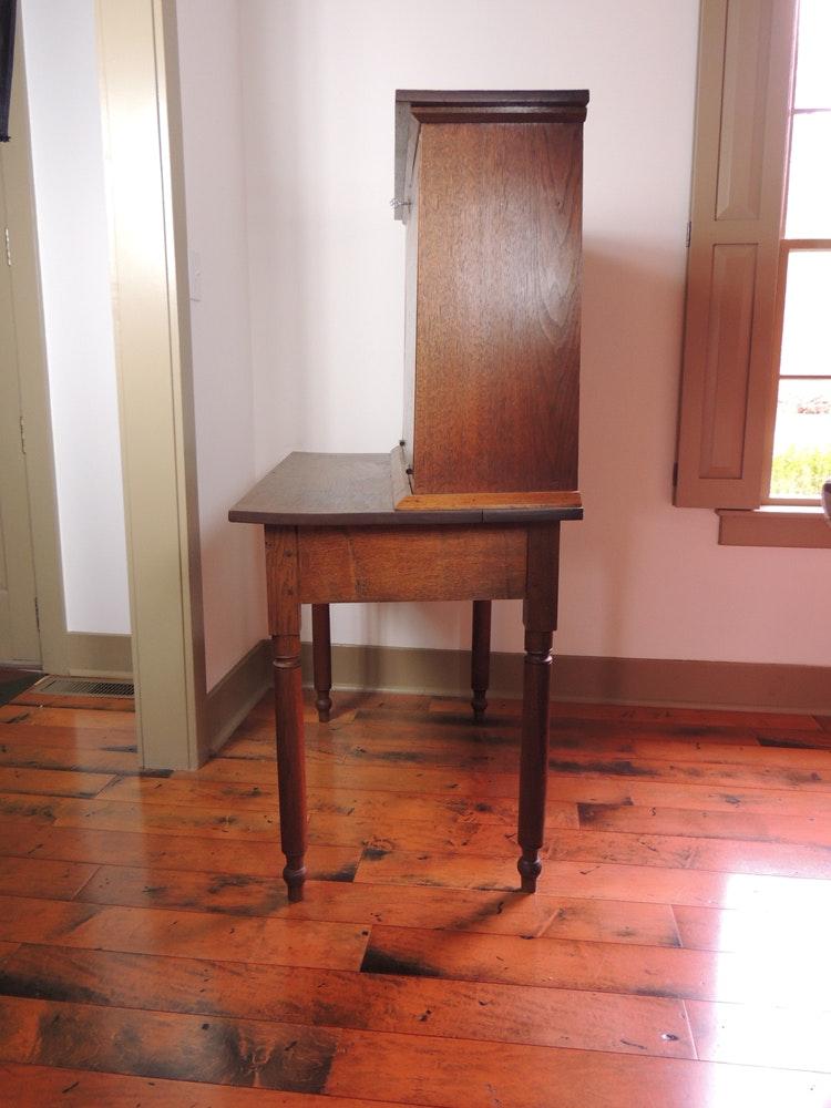 Antique 1800s Plantation Desk Ebth