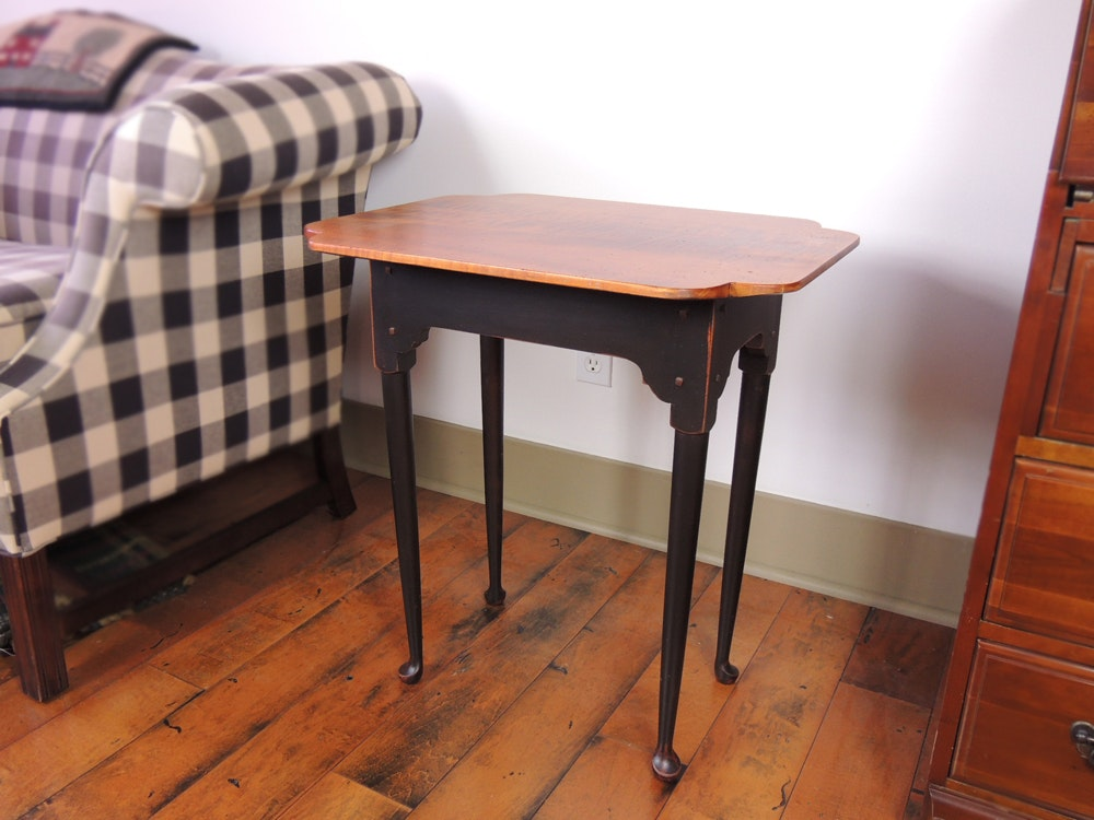 David Smith Queen Anne End Table