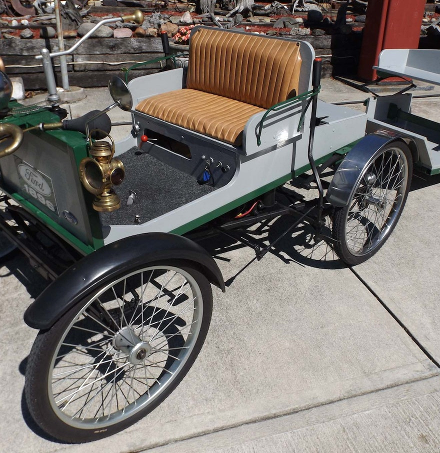1900 Replica Kit Makes Bentley: 1896 Ford Replica Quadricycle Car With Sulky : EBTH