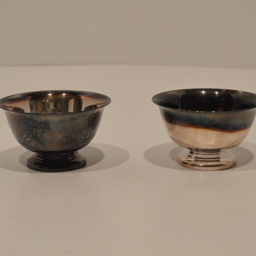 Reed Barton Paul Revere Design Silver Plate Bowls Ebth
