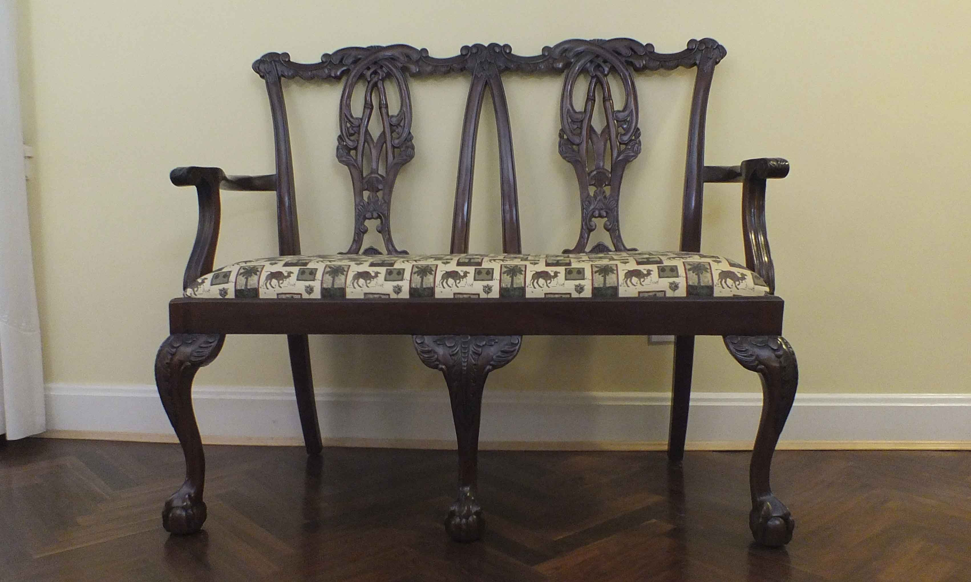 Southwood Furniture Chippendale Bench ...