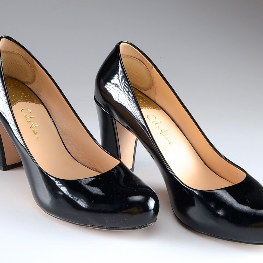 2543f41644a54f Cole Haan Black Patent Leather Ambrose Nike Air Pumps   EBTH