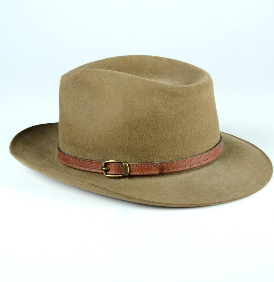 Cabelas Hats Caps: Men's Cabela's Three Forks Stetson Hat : EBTH