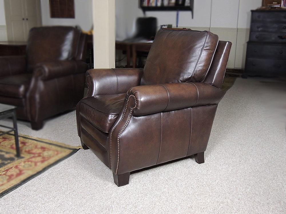 Bernhardt Leather Recliner ... & Bernhardt Leather Recliner : EBTH islam-shia.org