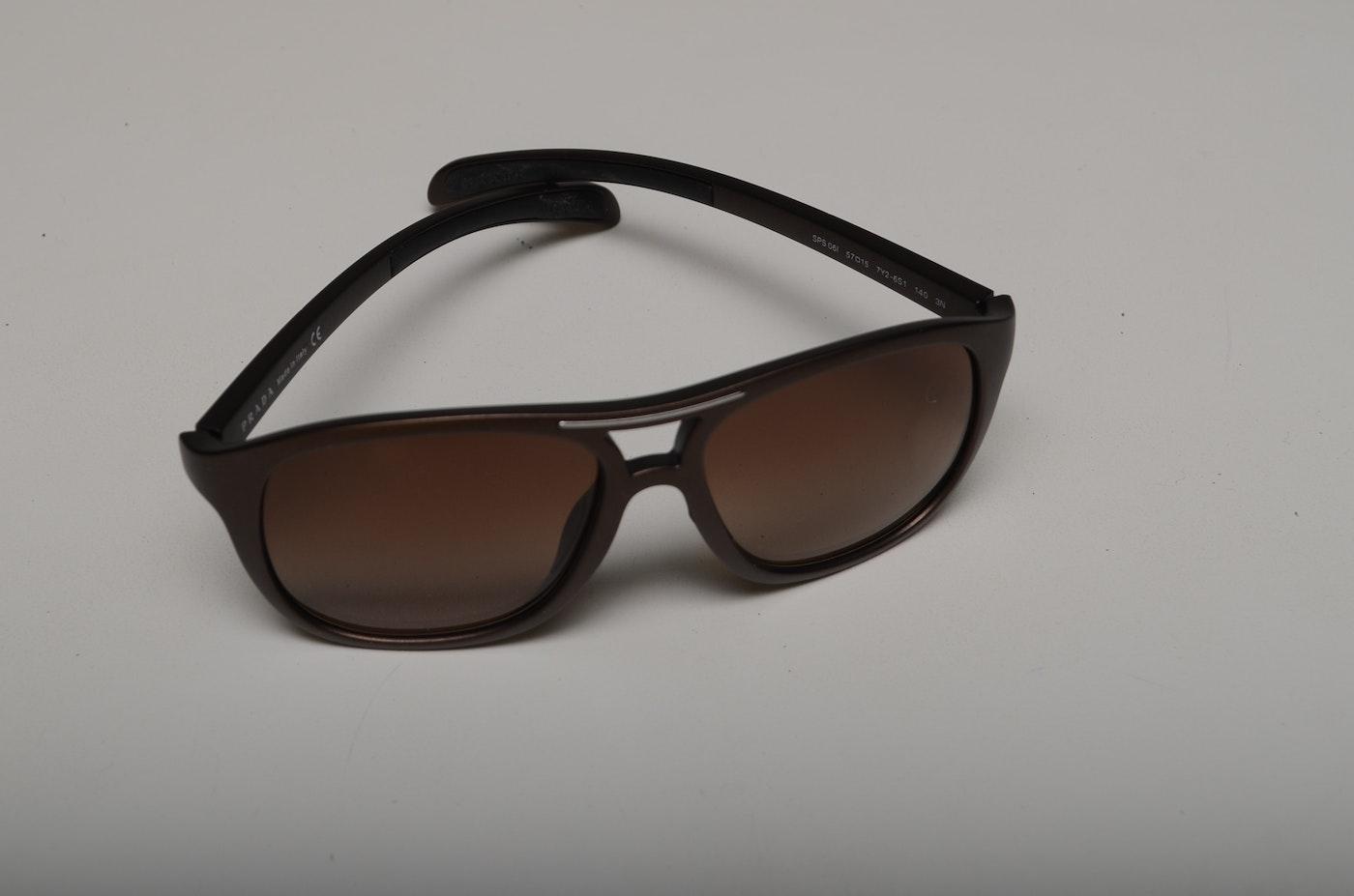 55bd9e3d5a Women  39 s Prada Sport Sunglasses with Case   EBTH
