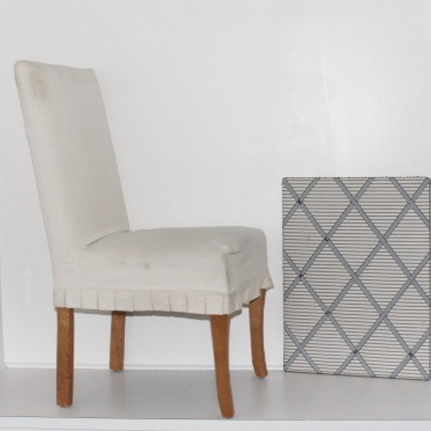 Super Ballard Design Parsons Couture Chair And Bulletin Board Gmtry Best Dining Table And Chair Ideas Images Gmtryco