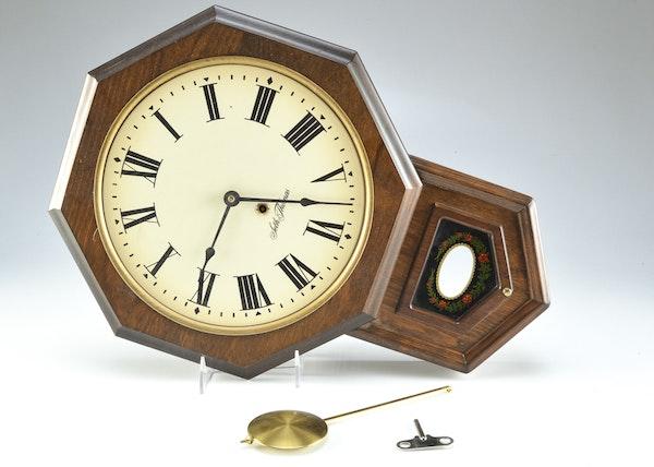 seth thomas wall clock golden rule ebth