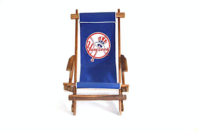 Nostalgic New York Yankees Wooden Folding Chair ...