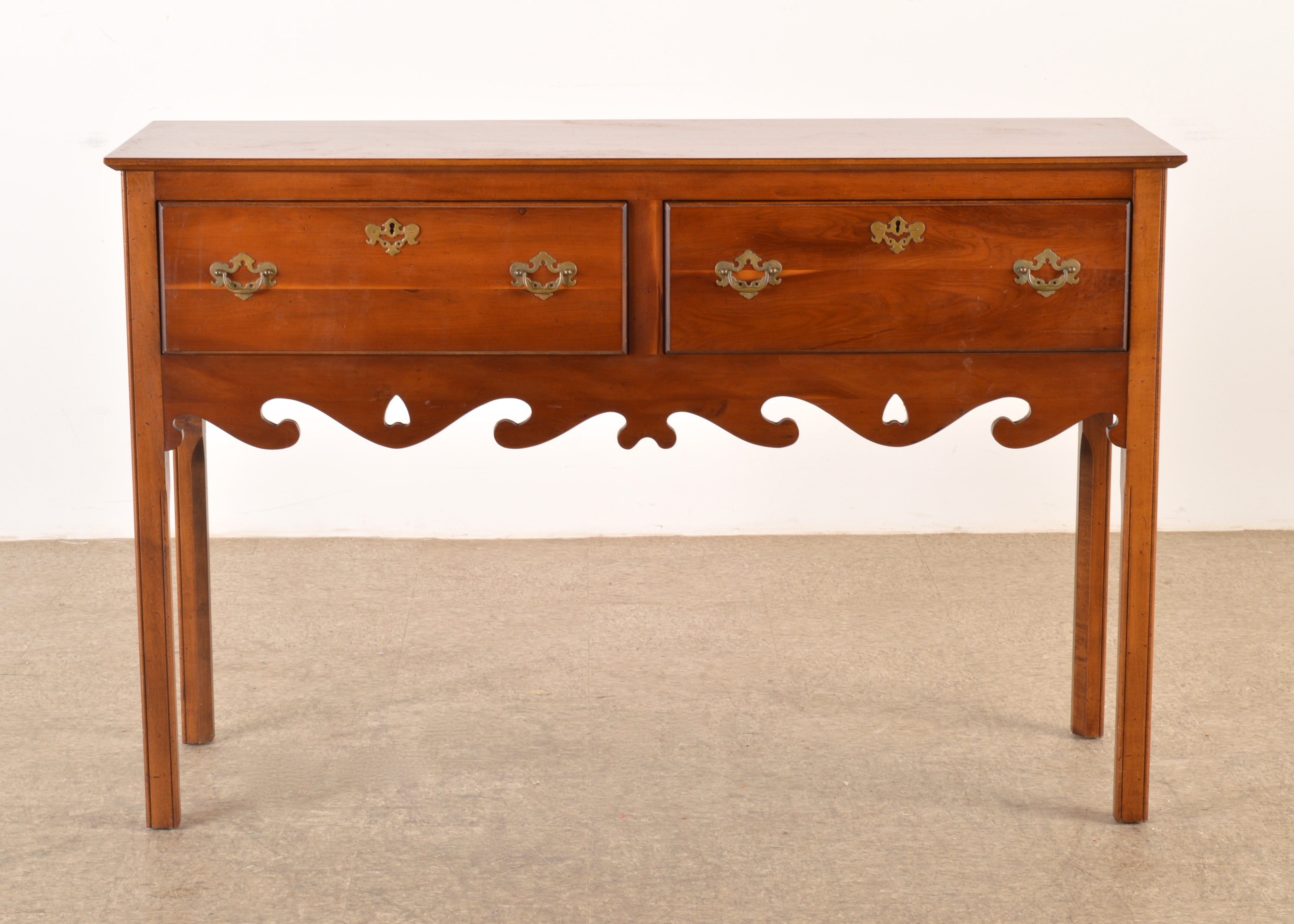 Wonderful Chippendale Style Sideboard By The Wright Table Company ...