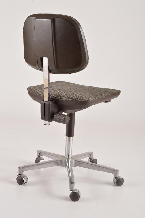 vintage west german swivel office chairs ebth