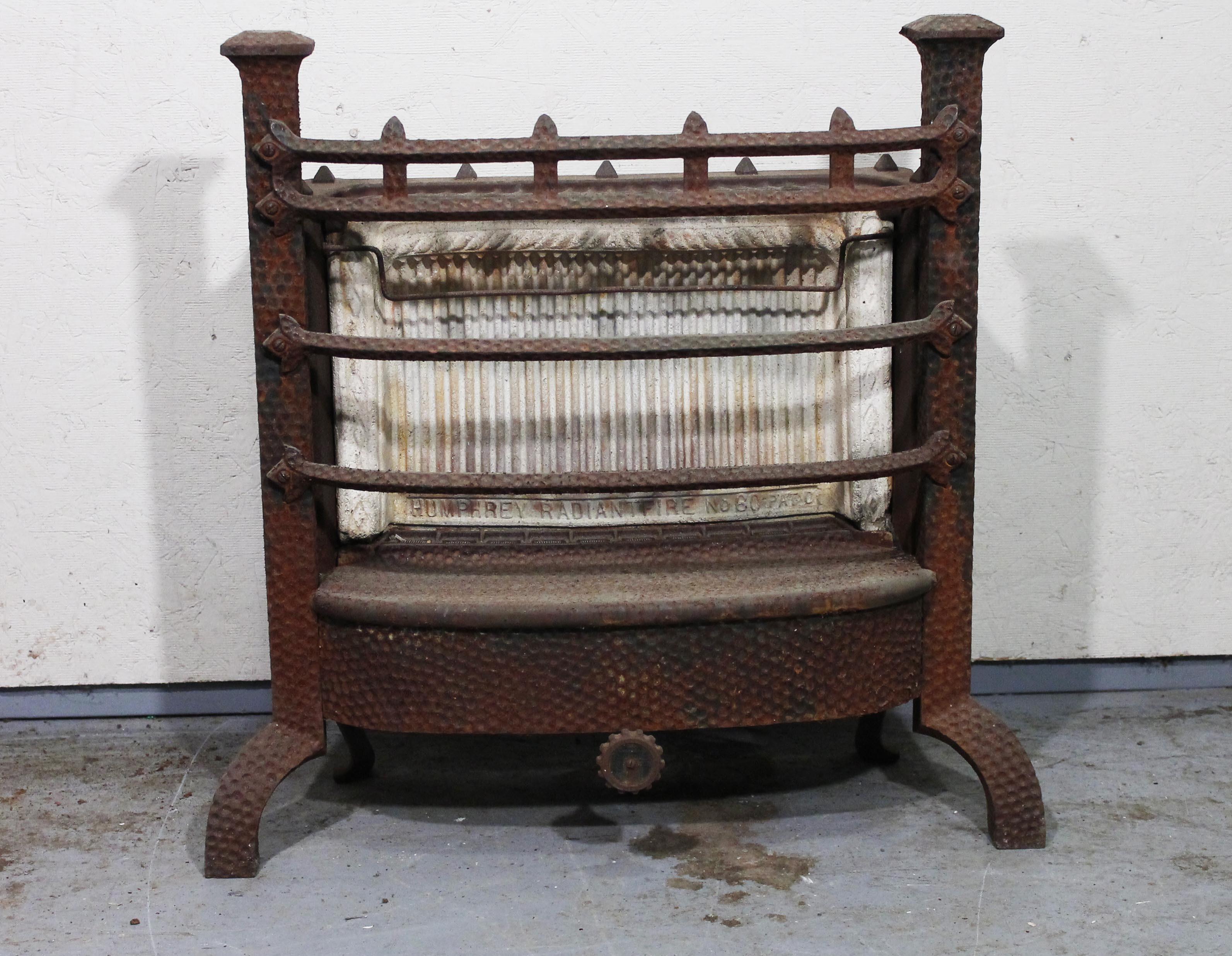 antique gas fireplace insert by humphrey radiant fire ebth