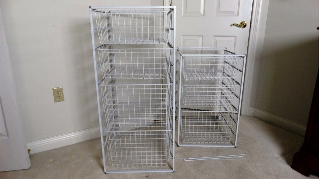 Wire Basket Storage Units ...