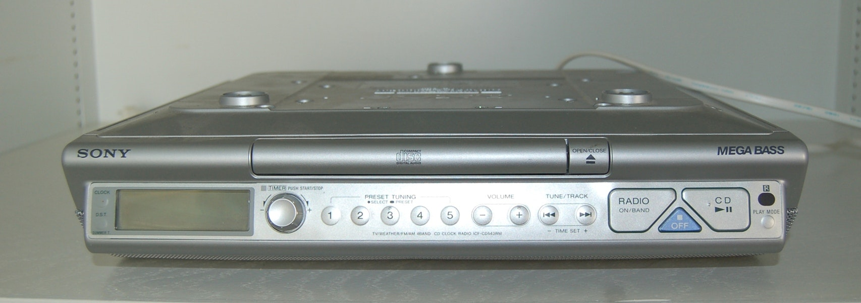 sony cabinet mount cd player ebth