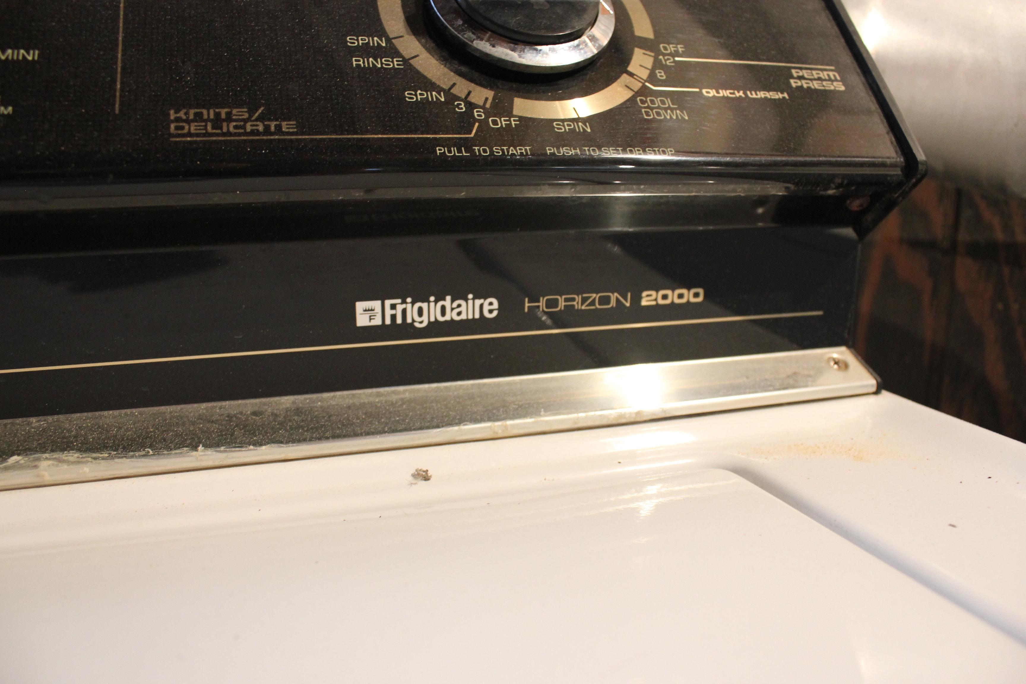 frigidaire horizon 2000 washing machine