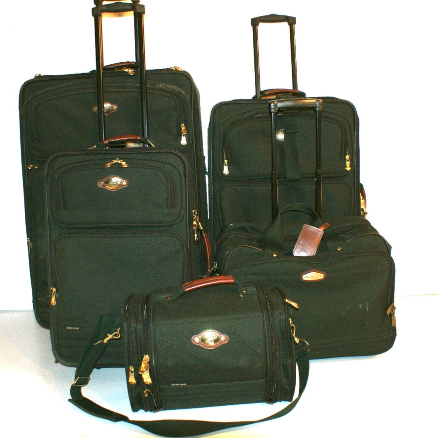 ea0accb04319 Ricardo of Beverly Hills Five Piece  Santa Cruz  Luggage Set   EBTH