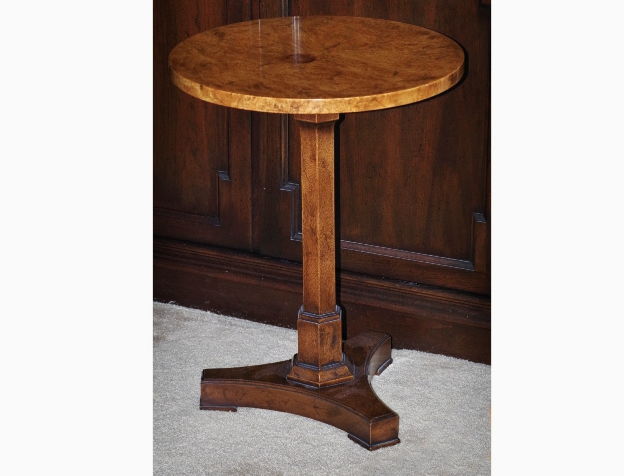 Old Colony Furniture Company Birdu0027s Eye Maple Occasional Table ...