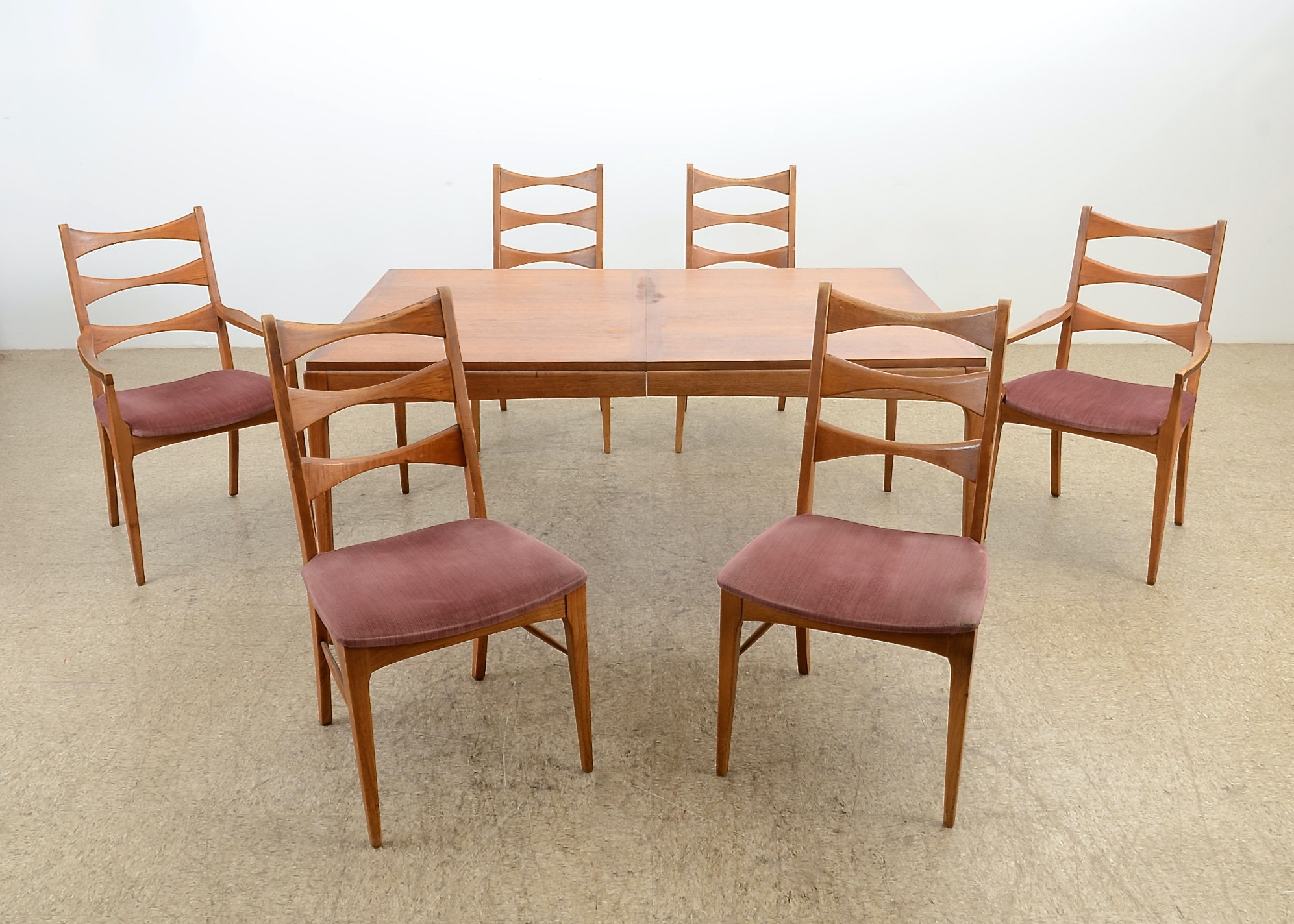 Lane Furniture Six Seat Dining Set